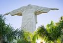 פוטו צילום אחורי אטרקציות תיירותיות פסל ישו ריו ברזיל, צילום: שאטרסטוק