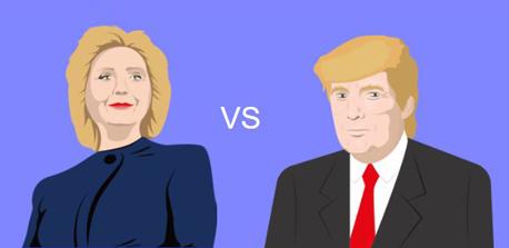 מבחן טראמפ הילרי, צילום: thedonaldtest.com