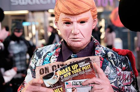 בובת טראמפ, צילום: איי אף פי