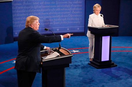 הילארי קלינטון דונלד טראמפ ה עימות השלישי, צילום: איי אף פי