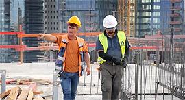 פועלי בניין זרים טורקיה בנייה, צילום: טל אזולאי