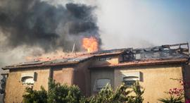 שריפה שריפות חיפה מטוס כיבוי 4, צילום: גיל נחושתן