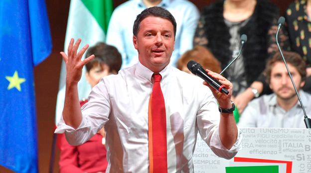 מתאו רנצי ראש ממשלת איטליה, צילום: איי אף פי