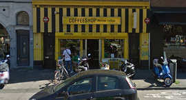 מלו ילו הקופי השופ הוותיק ביותר באמסטרדם ייסגר, צילום: גוגל סטריט וויו