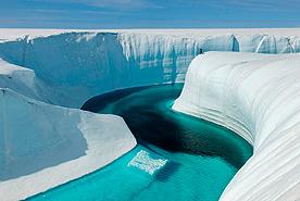 פוטו פלאי עולם מקרח קניון יום הולדת גרינלנד, צילום: איי פי