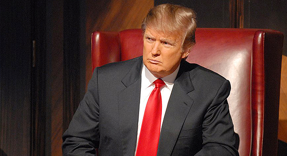 דונלד טראמפ סדרת טלוויזיה המתמחה, צילום: NBC