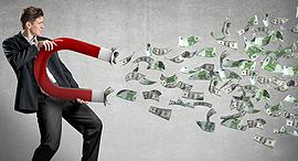 עשיר עשירים עושר דולרים, צילום: שאטרסטוק