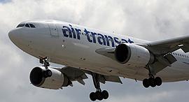 מטוס של אייר טראנסאט, צילום: שאטרסטוק