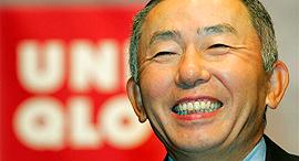 טאדאשי ינאי בעלים של רשת האופנה יוניקלו הכי עשיר יפן, צילום: asia one