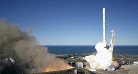 חברת spaceX של אלון מאסק משגרת לוויינים לחלל לראשונה מאז פיצוץ עמוס 6, צילום: איי אף פי