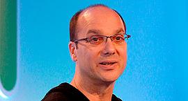 אנדי רובין ממציא מערכת ההפעלה אנדרואיד, צילום: בלומברג