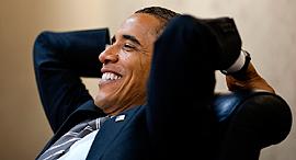 ברק אובמה 2011 , צילום: Pete Sauza