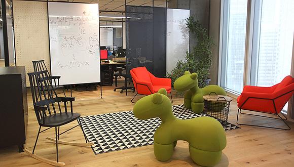 משרדי Feedvisor, צילום: מיה כרמי