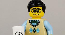 פרופסור לגו אוניברסיטת קיימברידג', צילום:  FLICKR, BRICKDISPLAYCASE.COM
