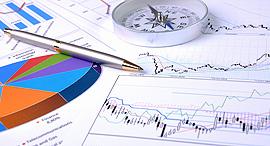 בורסה כלכלה כלכלי גרפים, צילום:  shutterstock