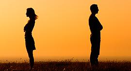 גירושין אילוסטרציה משפטיפ, צילום: bigstock