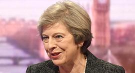 ראש ממשלת בריטניה תרזה מיי, צילום: אי פי איי