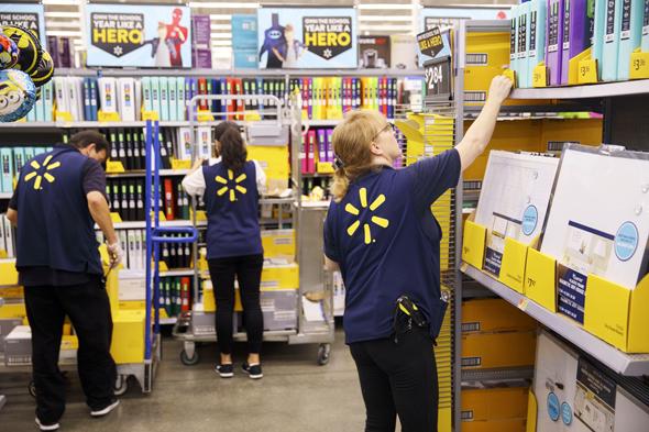 Walmart. Photo: Bloomberg