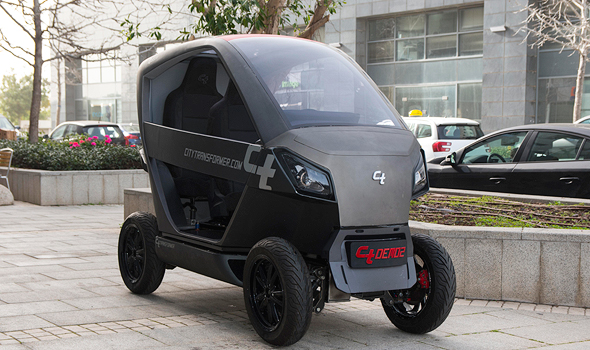 Israelג€™s Government to Fund a Folding Electric Vehicle and Hydrogen Gas Stations