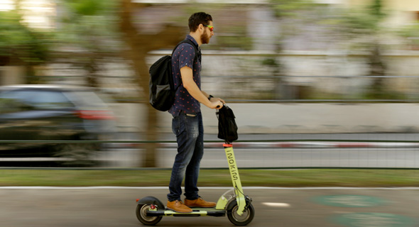 Over 10% of Israelis Make Weekly Use of Bikes and E-Scooters, Report Says