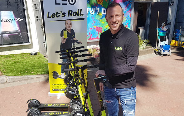 E-Scooter-Sharing Service LEO Officially Launches in Tel Aviv