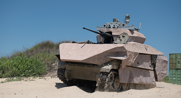 Israelג€™s Defense Ministry Demonstrates New Autonomous Armored Vehicles
