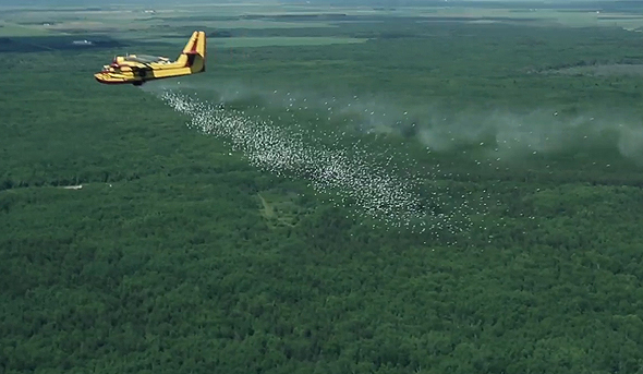 Israeli Defense Contractor Elbit Successfully Tests Aerial Firefighting Technology