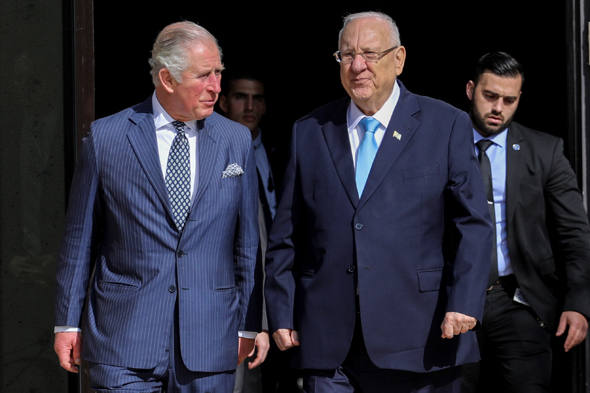 Prince Charles Praises Israeli innovation in the Fields of Medicine, Research, and Science