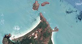 פוטו תמונות מהחלל קייפ יורק פנינסולה אוסטרליה