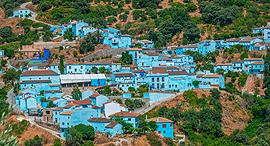 פוטו עיירות צבועות גזקאר ספרד, צילום: שאטרסטוק