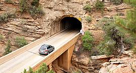 """פוטו מנהרות הר כרמל ארה""""ב , צילום: ויקימדיה"""