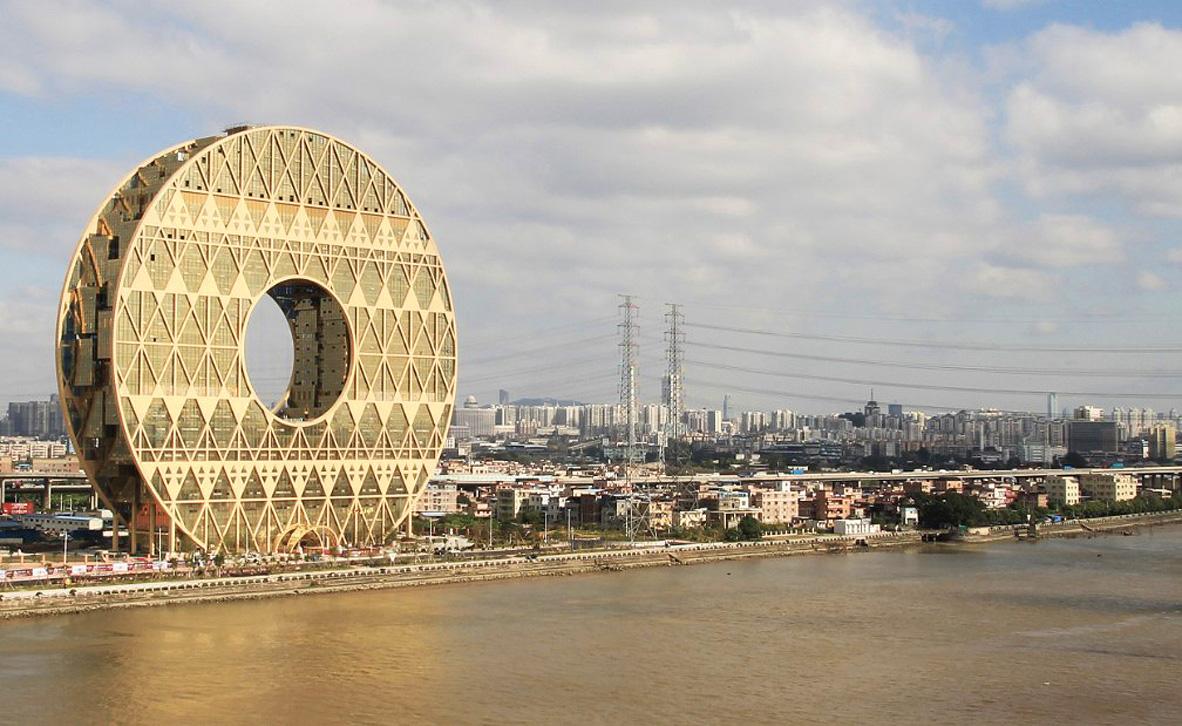 פוטו מגדלים עם חור גונגזו סין, צילום: שאטרסטוק
