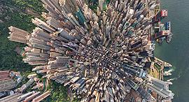פוטו צילום מרחפן הונג קונג, צילום: AirPano