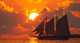 פוטו שקיעות קיי ווסט פלורידה, צילום: שאטרסטוק