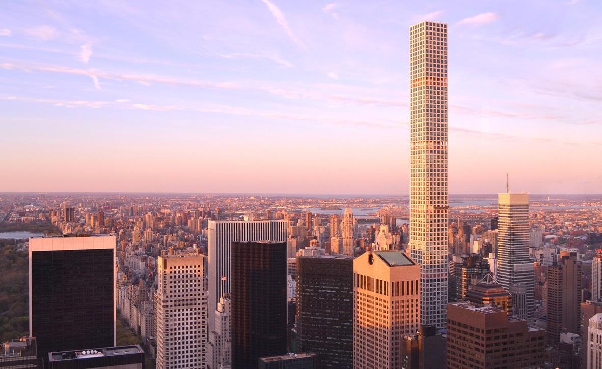 פוטו המקומות הכי גבוהים בניין המגורים הגבוה בעולם 432 פארק אווניו ניו ורק, צילום: שאטרסטוק