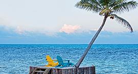 פוטו חופים עם מים כחולים אמברגריס בליז, צילום: שאטרסטוק