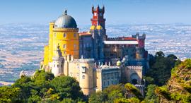 פוטו ארמונות ארמון פנה סינטרה פורטוגל, צילום: שאטרסטוק