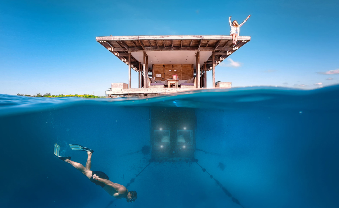 פוטו מלונות אקסטרים Manta Resort טנזניה
