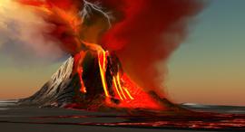פוטו הרי געש פעילים הוואי The Kilauea volcano, צילום: שאטרסטוק