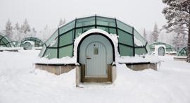 פוטו מלונות קרח Hotel Kakslauttanen פינלנד, צילום: שאטרסטוק