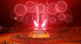 פוטו שנה סינית חדשה זיקוקים, צילום: גטי אימג'ס