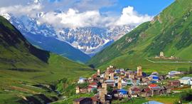 פוטו היישובים הגבוהים בעולם Ushguli,  גאורגיה , צילום: שאטרסטוק