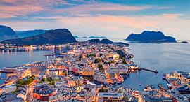 פוטו ערים ללא זיהום אוויר אלסנד נורווגיה, צילום: שאטרסטוק