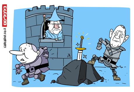 קריקטורה 23.10.19, איור: צח כהן