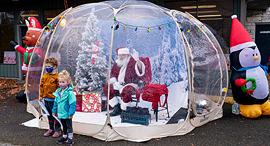 פוטו קריסמס סנטה קלאוס וושינגטון, צילום: גטי אימג'ס