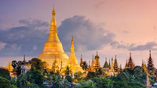 פוטו מבנים מזהב Shwedagon Pagoda מיינאמר, צילום: שאטרסטוק