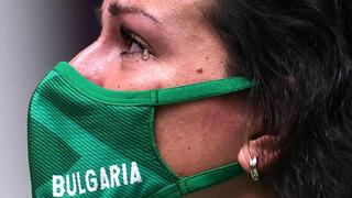 פוטו אוליפיאדה טוקיו מנצחים ומפסידים ירי ברובה אוויר בולגריה אנטוניה בונבה , צילום: רויטרס