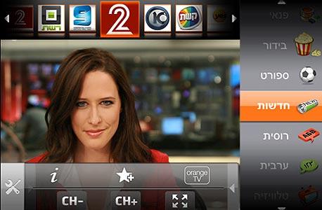 אפליקציית Orange TV