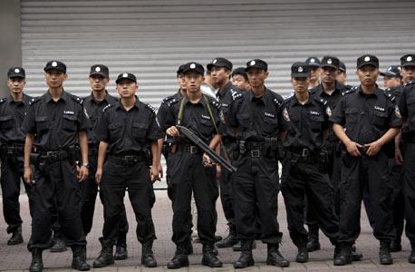 שוטרים סיניים