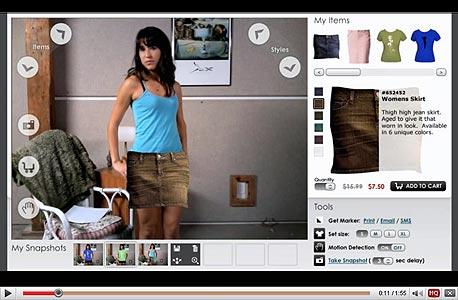 חנות בגדים מקוונת, אילוסטרציה